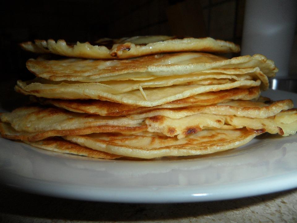 Pancake, Food, Cook, Bake, Tower, Many, Quantitative