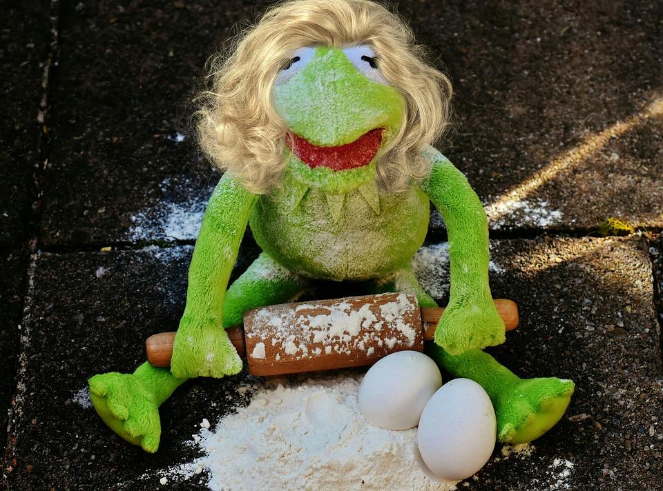 Funny Kermit The Frog: Free Photo Bake Soft Toy Kermit Funny
