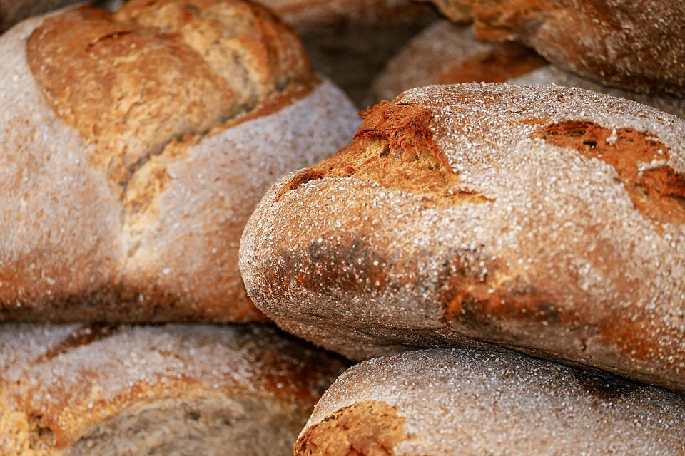 Bread, Wood Oven Bread, Loaf Of Bread, Frisch, Baked
