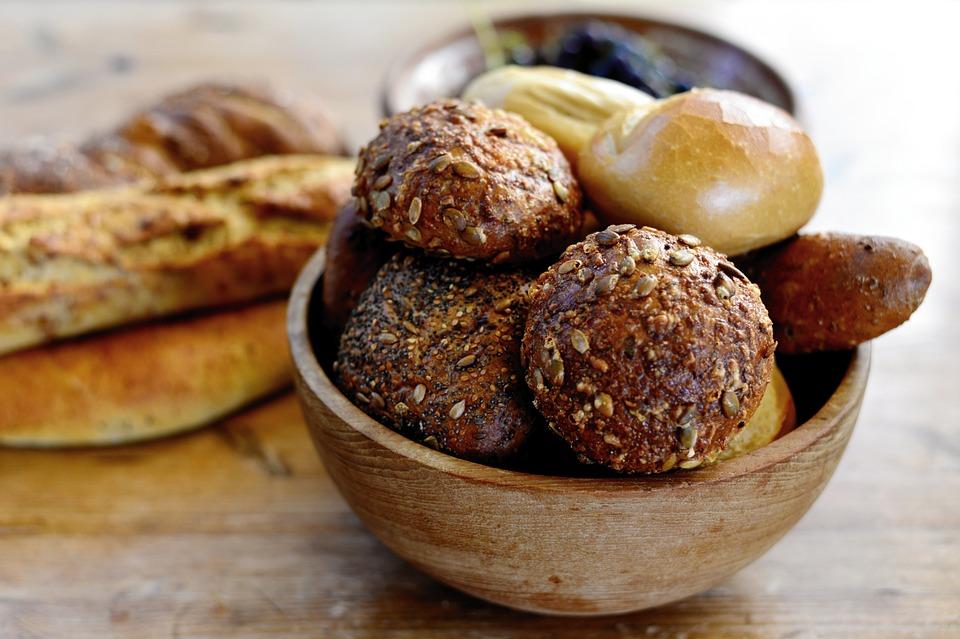 Roll, Grain Bread, Breakfast, Baked Goods, Food, Eat