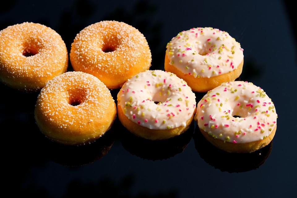 Donat, Donut, Baked Goods, Sweet Dish, Sweet, Pastries