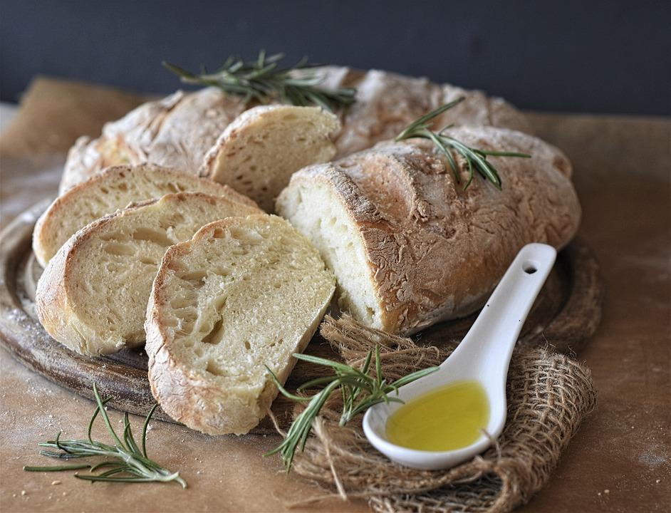 Bread, Ciabatta, Flour, Wheat Flour, Baked, Oven, Dough