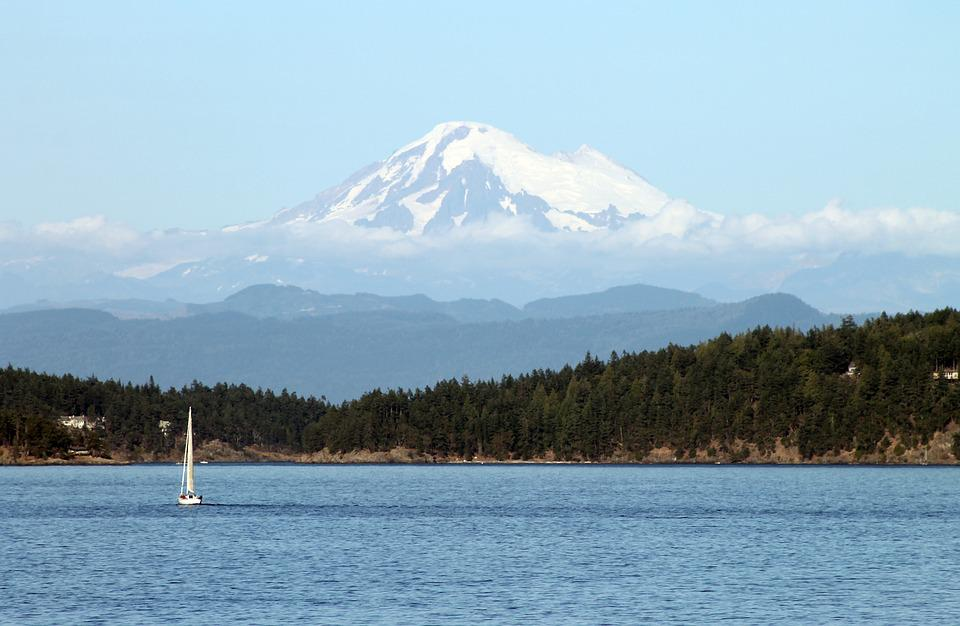 Washington State, Mt, Baker, Puget Sound, Mountain