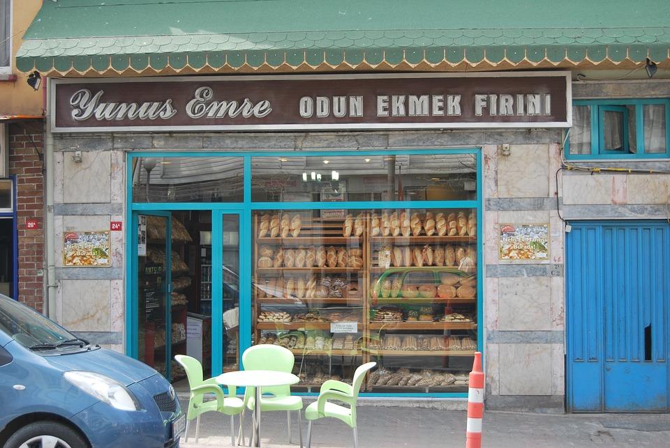 Istanbul, Turkey, Kuzgunzcuk, Bakery