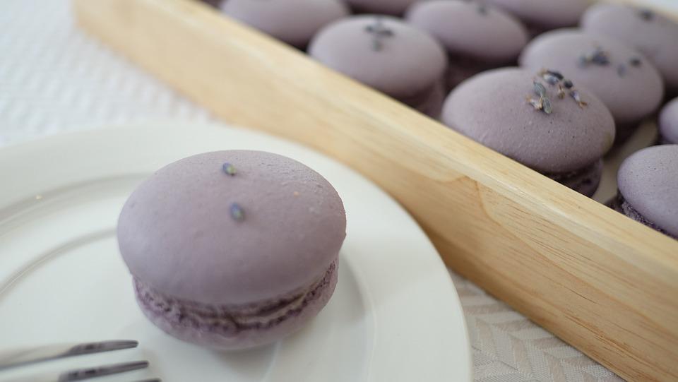 Macaroon, Violet, Bakery, Cake
