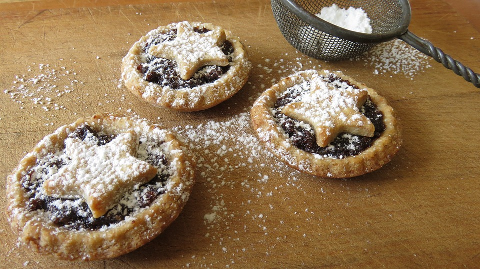 Mince Pies, Baking, Christmas, Homemade, Pastry