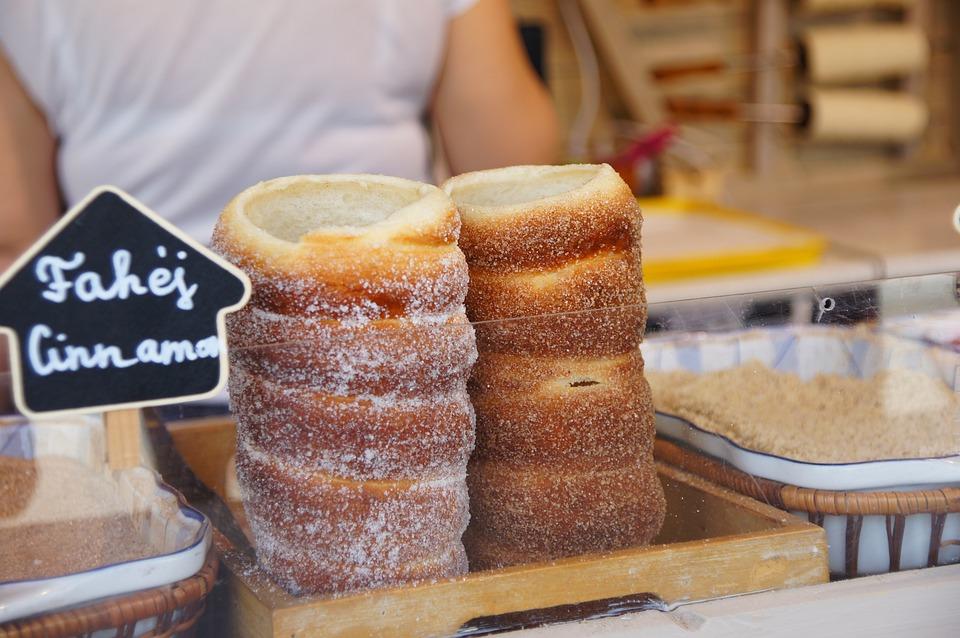 Baking, Trendlike, Trdelník, Sękacz, Sweet, Prague