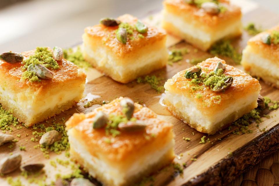 Food, Eastern, Sweets, Baklava, Sweet, Arab, Delicious
