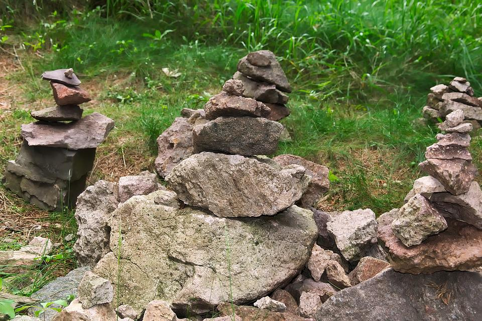 Cairn, Stacked, Balance, Meditation, Tower, Inner Calm