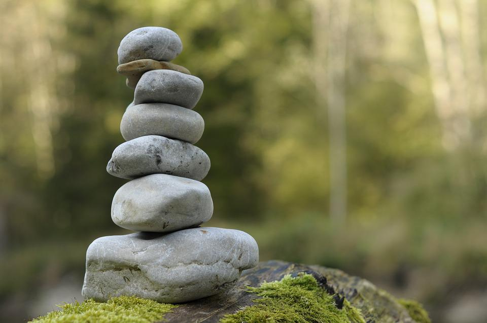 Stones, Stone Tower, Cairn, Balance, Stacked, Layered