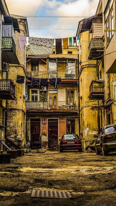 Odessa Yard, Doors, Machinery, Balconies