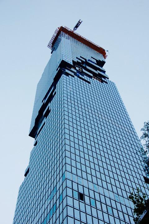 Skyscraper, Balcony, Architecture, Building, Facade
