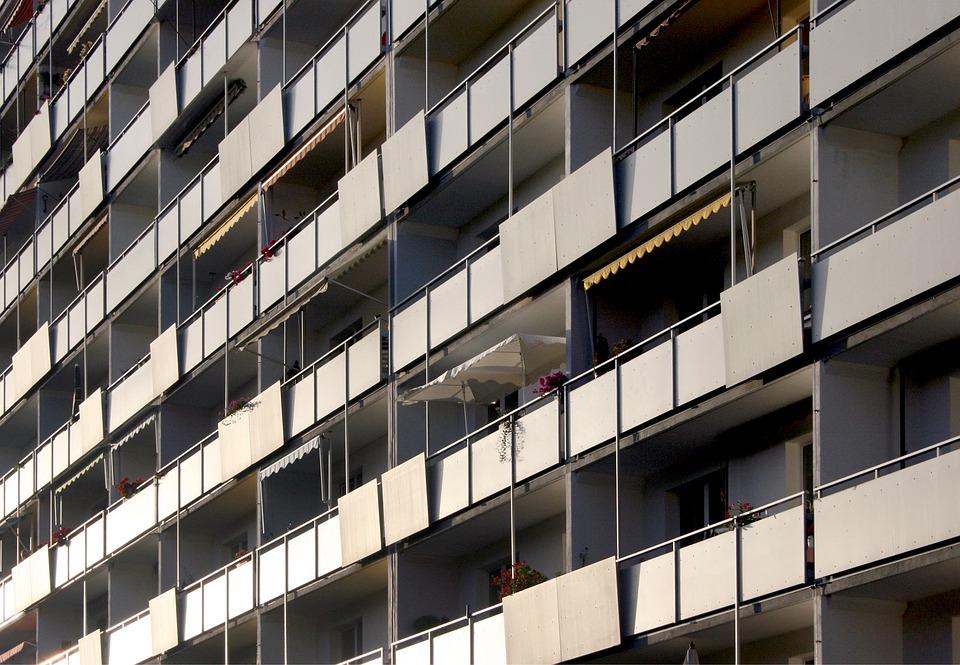 House, Building, Balcony, Facade, Live, Living Room