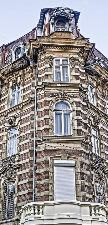 Odessa, Building, Modeling, Balcony, Window