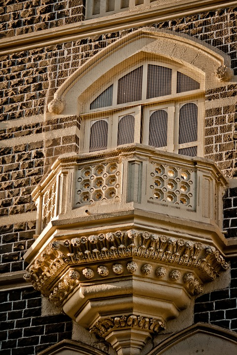 Taj Mahal Hotel, Mumbai, Balcony, India, Windows