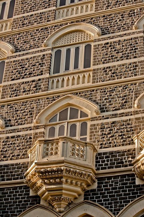 Taj Mahal Hotel, Mumbai, Balcony, India, Windows