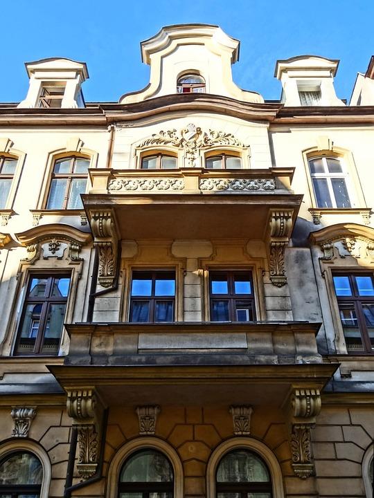 Gable, Pediment, Balcony, Architecture, Facade