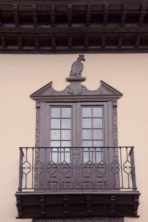 Window, Elegant, Simply, Balcony, Typical, Fine, Turned