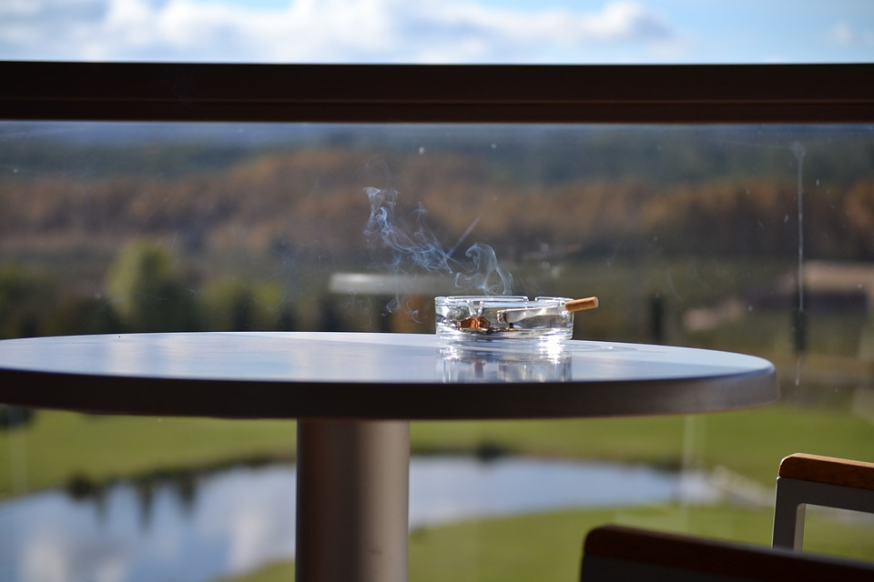 Relax, Smoking, Balcony, Holiday