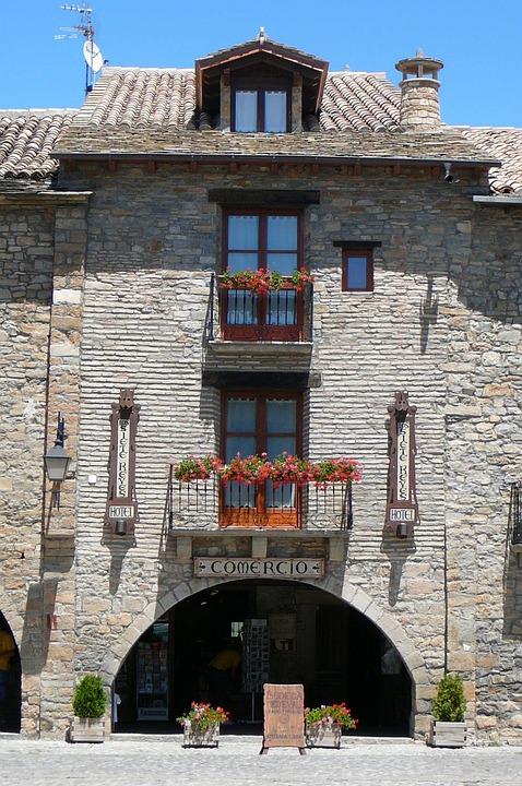 Facade, Windows, Architecture, Porch, Balcony, Spain