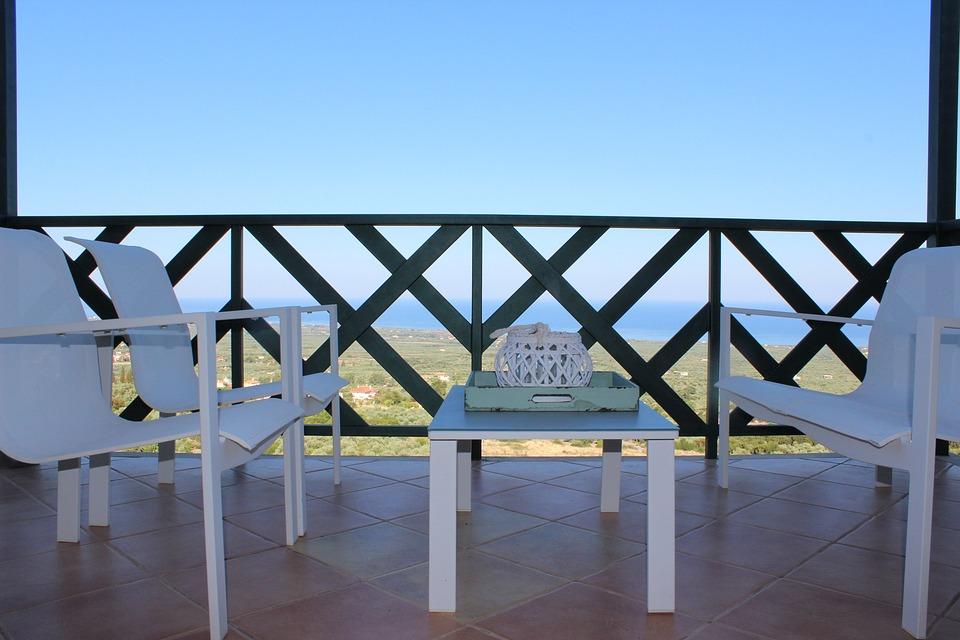 Finca, Balcony, Sea View, Chairs, Show, Terrace