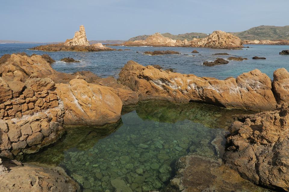 Cala Pregonda, Minorca, Balearic Islands