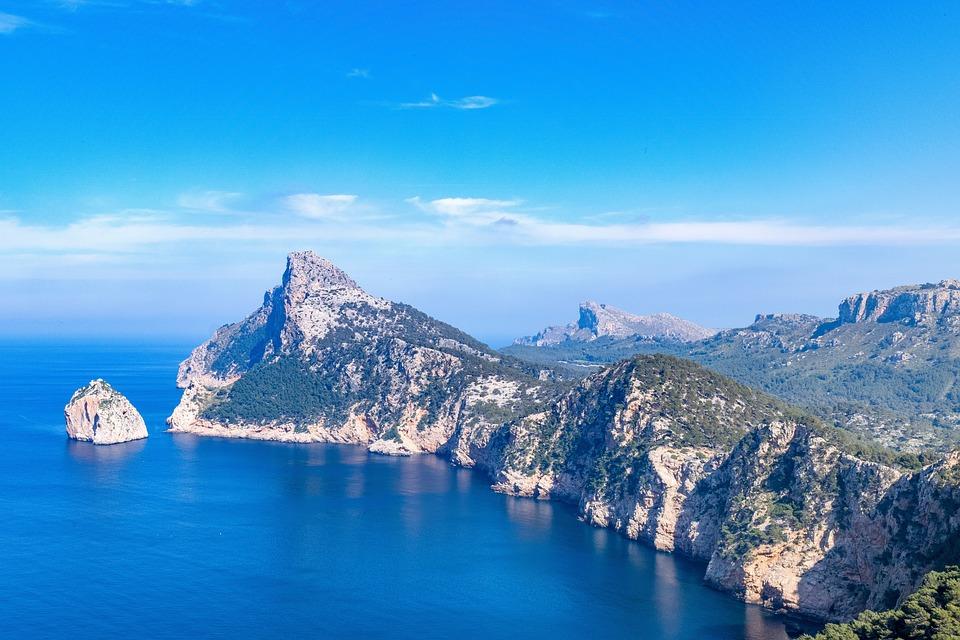 Mallorca, Cap Formentor, Landscape, Balearic Islands