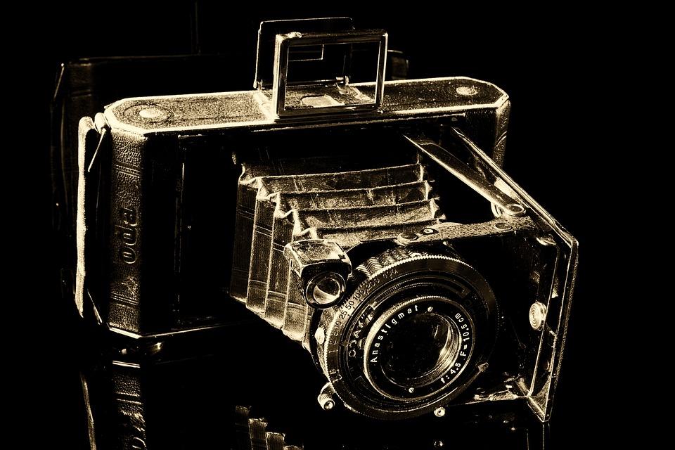 Camera, Balgenkamera, Old, Nostalgic, Nostalgia