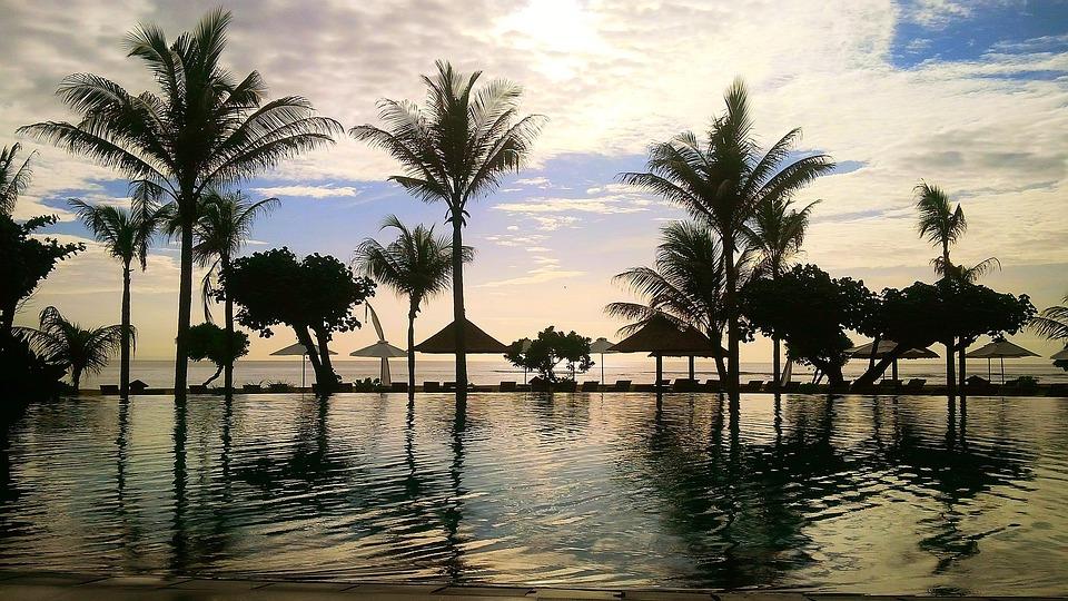 Beach, Bali, Indonesian