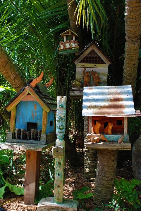 Bali, Birdhouse, Nest, Bird House, Home, Box, Wood