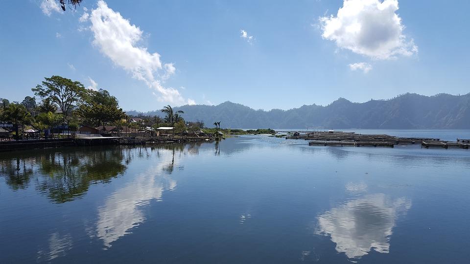 Bali, Sea, Water Reflection, Water, Ocean, Indonesia