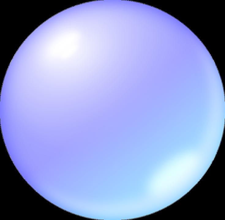 Bubble, Soap Bubble, Ball, About, Blue, Mirror