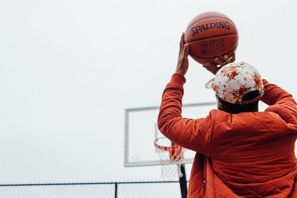 Action, Basketball, Ball, Athlete, Cap, Court, Fun