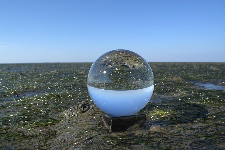 Glass Ball, Ball, Ball Photo, North Sea, Wadden Sea
