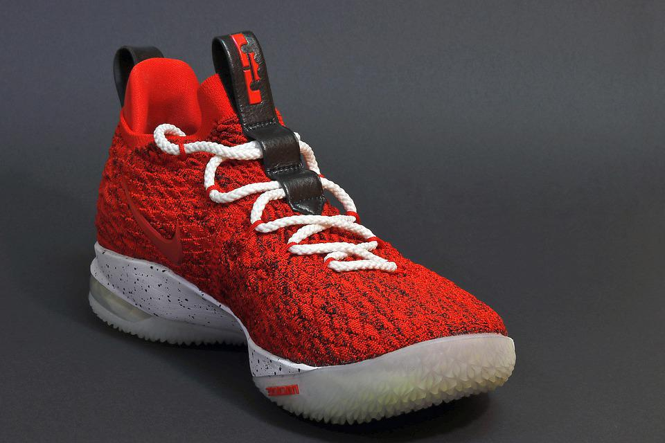 Basketball, Shoes, Play, One, Red, Sport, Basket, Ball