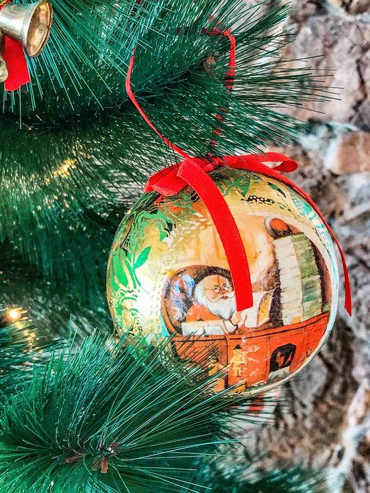 Christmas, Christmas Tree, Decoration, Ball