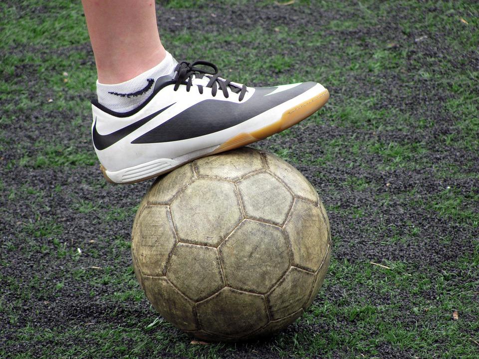 Ball, Football, Boot, Ball Control, Sport, Lawn