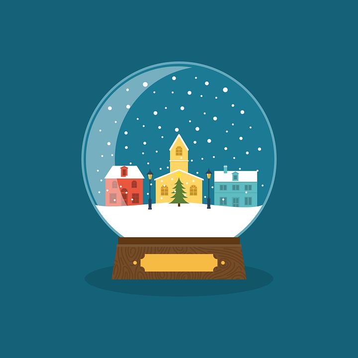 Ball, Card, Christmas, December, Decorative, Design