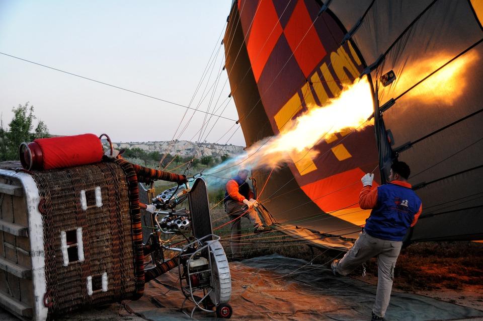 Ball, Hot Air Ballooning, Aerostat, Gas, Burner, Fire