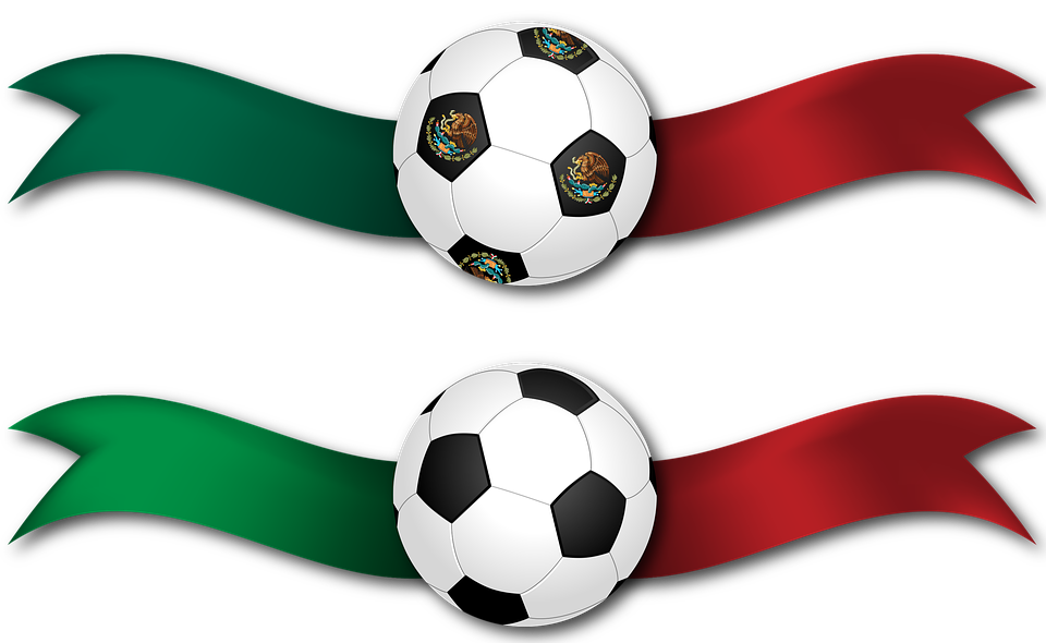 Banner, Ribbon, Football, Soccer, Mexico, Italy, Ball