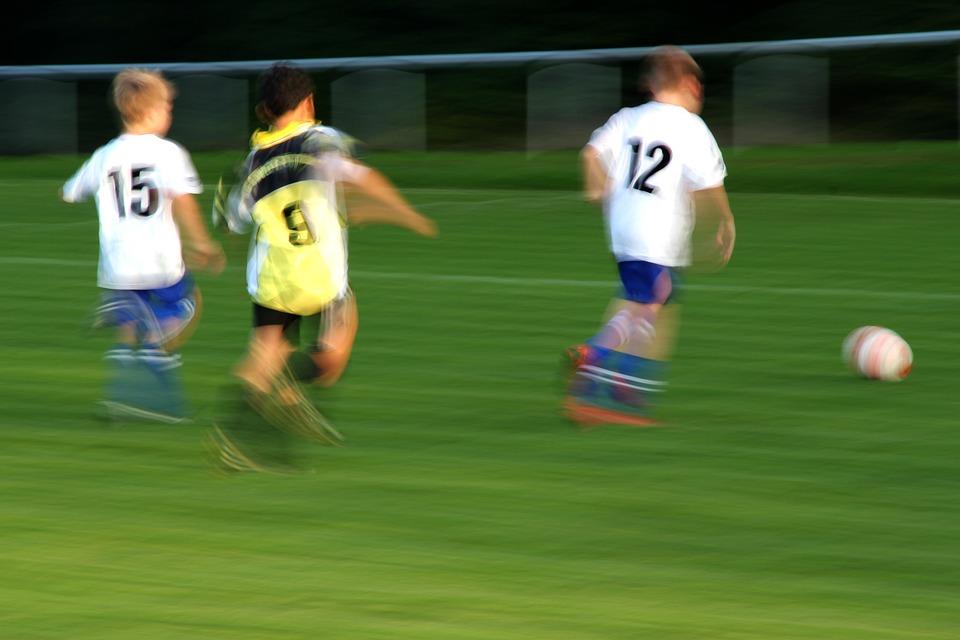 Football, Children, Play, Football Player, Ball, Rush