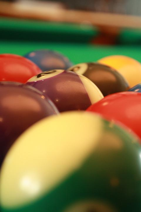 Pool, Ball, Game, Play, Fun, Sport, Recreation
