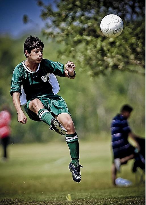 Soccer, Football, Athlete, Kicking, Ball, Soccer Ball