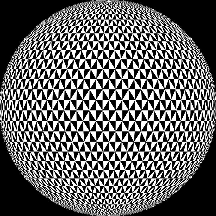 Sphere, Ball, Checkerboard, 3d, Pattern, Globe, Orb