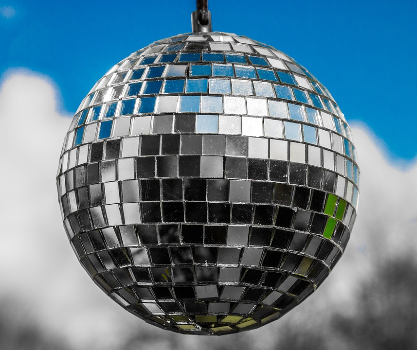 Sphere, Glitter, Disco, Ball, Mirror, Round