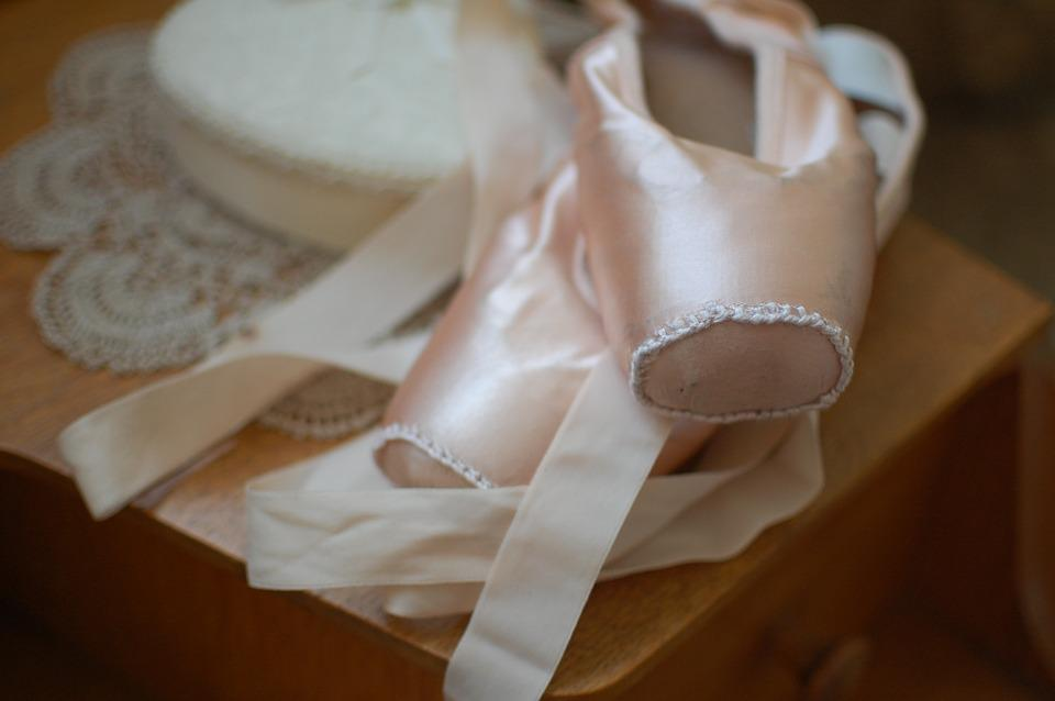 Ballet Shoes, Pointe Shoes, Ballet, Dance, Ballerina