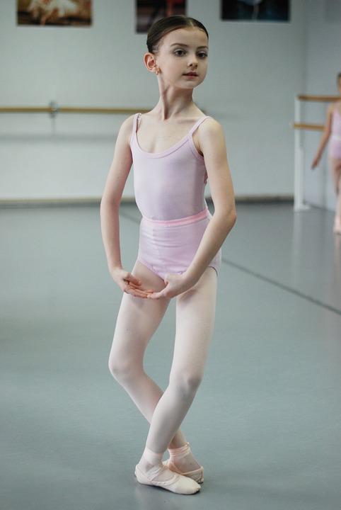 Ballet, Ballerina, Active, Woman, Slim, Girl, Sports