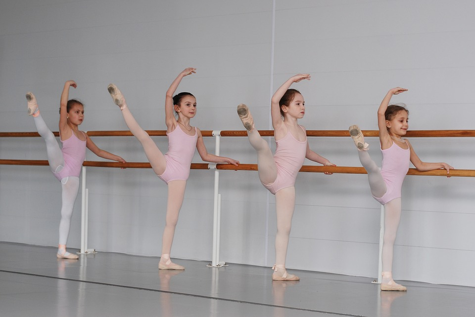 Ballet, School, Class, Ballerina, Dance Lesson, Kids