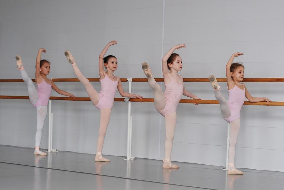Ballet, School, Class, Ballerina, Dance Lesson, Kids