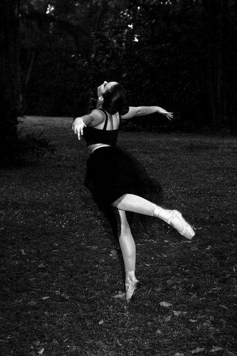 Ballerina, Woman, Ballet Dancer, Pointe Shoes, Art